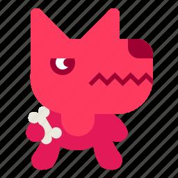 angry, animal, dog, pet icon