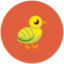 bird, chick, icojam icon