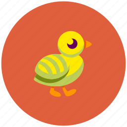 animal, bird, chick, nestling icon
