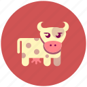 animal, cow, farm icon