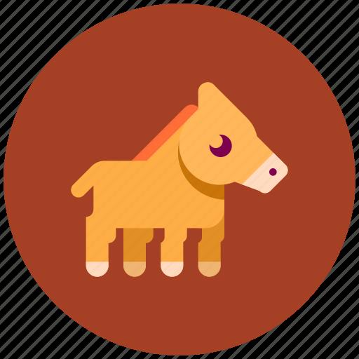 animal, farm, fast, horse icon