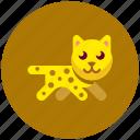 fast, leopard icon