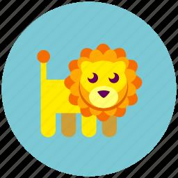 animal, lion, zoo icon