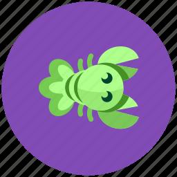 crawfish, crayfish, icojam, lobster icon