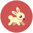 animal, icojam, rabbit icon