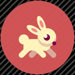 animal, icojam, rabbit icon
