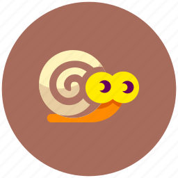 slow, snail icon