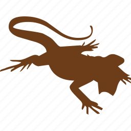 animal, animals, chameleon, dragon, lizard, pet, wizard icon