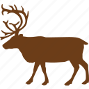 animal, animals, deer, wild animal, zoo icon