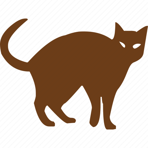 animal, cat, cat eye, horror, pet, scary, scream icon
