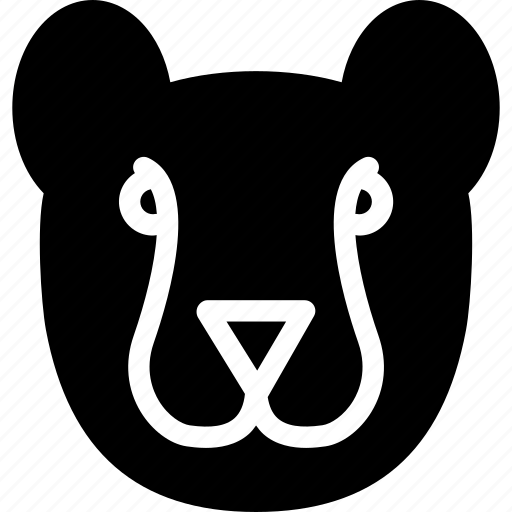 animal, animals, carnivore, cat, cheetah, creative, forest, grid, jungle, pet, shape, sign, zoo icon