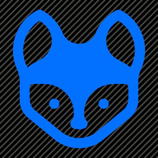 animal, fox, wildlife icon