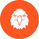 bird, eagle, falcon, flight, flying, sky, wing icon