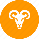 animal, face, farm, goat, mountain, nature, sheep icon