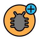 add, animal, bug, domestic, pet, wild icon