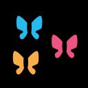 animal, butterflies, domestic, pet, wild icon