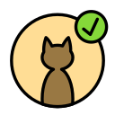 animal, approve, cat, domestic, pet, wild icon