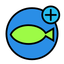 animal, aquarium, domesticadd, fish, pet, water, wild icon