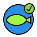 animal, aquarium, domesticapprove, fish, pet, water, wild icon
