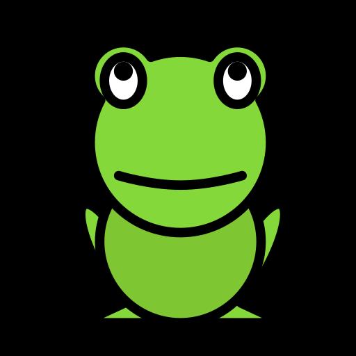 animal, domestic, frog, pet, wild icon