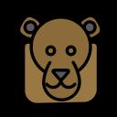 animal, domestic, face, monkey, pet, wild icon
