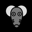 animal, domestic, mouse2, pet, wild icon