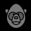 animal, domestic, orangoutang, pet, wild icon