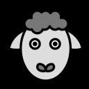 animal, domestic, pet, sheep, wild icon