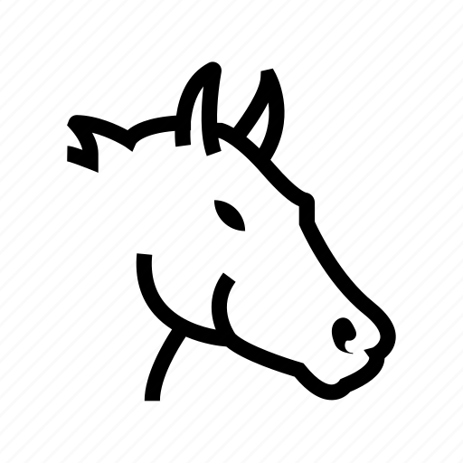 animal, ass, donkey, horse, jackass icon