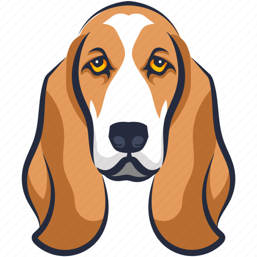 basset hound, boxer dog, cur, dog, foxhound icon