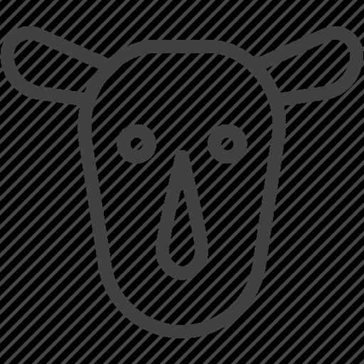 head, rhino, rhinoceros icon