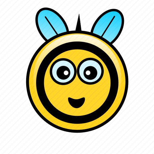bee, bumble, cute, farm, flower, insect, pollen icon
