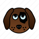 animal, cute, dog, doggy, farm, pet, puppy icon