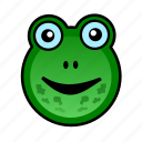 animal, cute, farm, frog, froggy, pet, pond icon