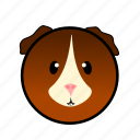animal, cute, farm, guineapig, pet, pig, piglet icon