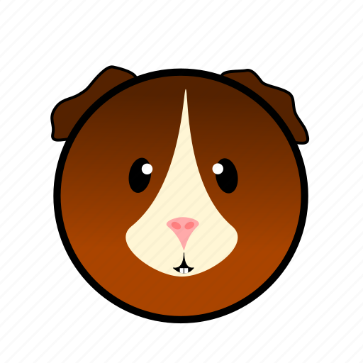 animal, cute, farm, guineapig, pet, pig, piglet icon
