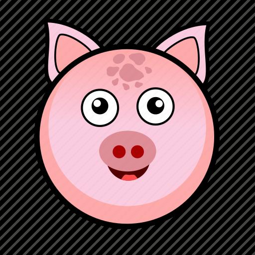 animal, cute, farm, pet, pig, piggy, piglet icon