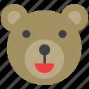 animal, bear
