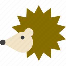 animal, hedgehog icon