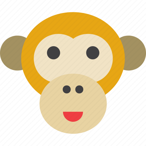 animal, ape, chimpanzee, monkey icon