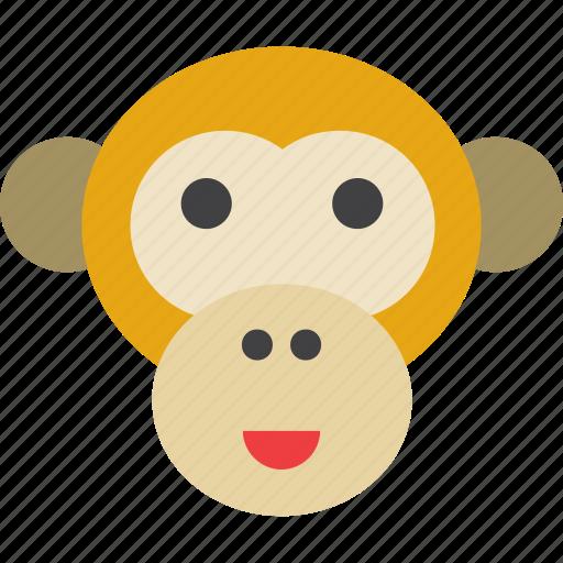 Animal, ape, chimpanzee, monkey icon - Download on Iconfinder