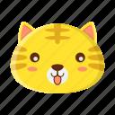 animal, cat, emoji, wild, zoo
