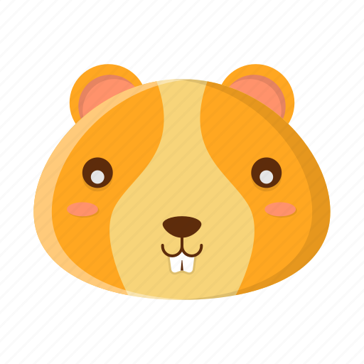 Animal, cute, face, hamster, pet icon - Download on Iconfinder