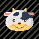 animal, cow, cute, farm, milk