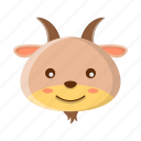 animal, bull, cute, ox, wild