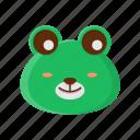animal, cute, frog, pet, zoo