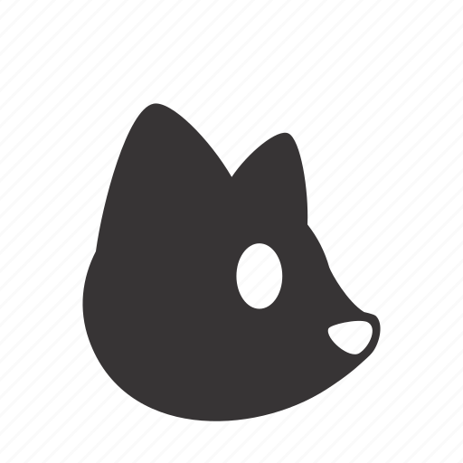 animal, cat, domestic, head, kitten, pet icon