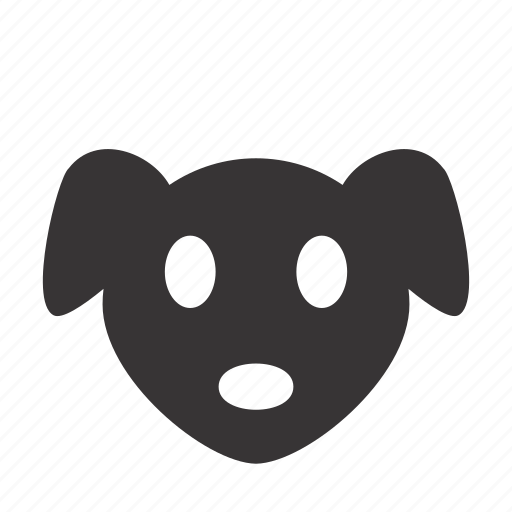 animal, canine, dog, domestic, face, head, pet icon