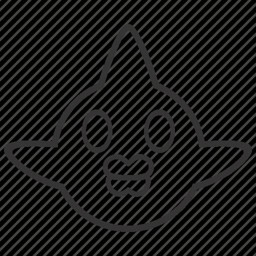 fish, pet, whole icon