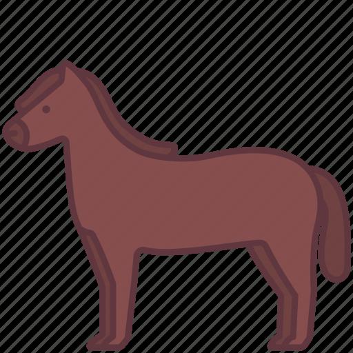 animal, domestic, farm, horse, pet, zoo icon